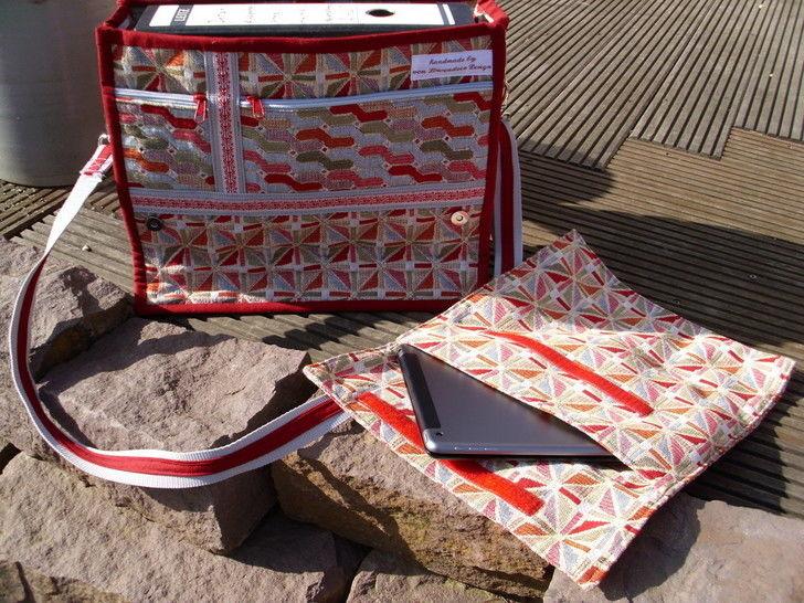 "Anleitung zum Nähen der Tasche ""Barcelona"" - Nähanleitungen bei Makerist sofort runterladen"