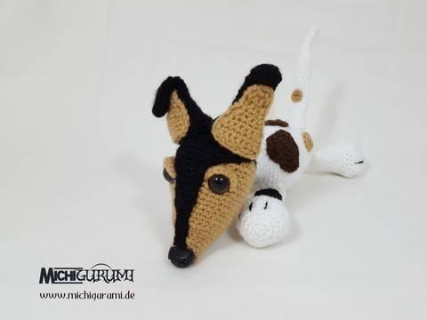 Häkelanleitung: Hund Scrat (gehäkelte Version) bei Makerist sofort runterladen