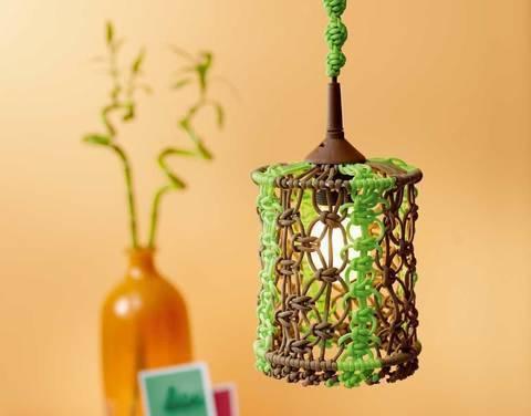 Paracord-Lampenschirm Knüpfanleitung bei Makerist sofort runterladen