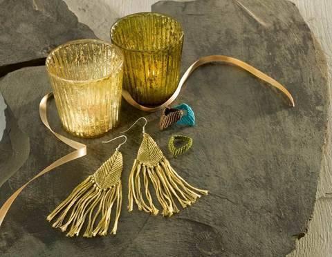 Spitzenringe & Fransen-Ohrhänger Knüpfanleitung bei Makerist sofort runterladen