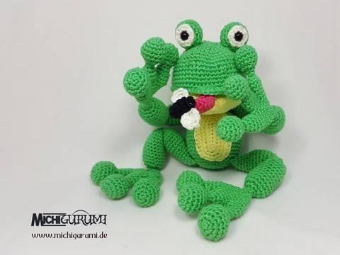 Häkelanleitung: Frosch Mikesh bei Makerist sofort runterladen