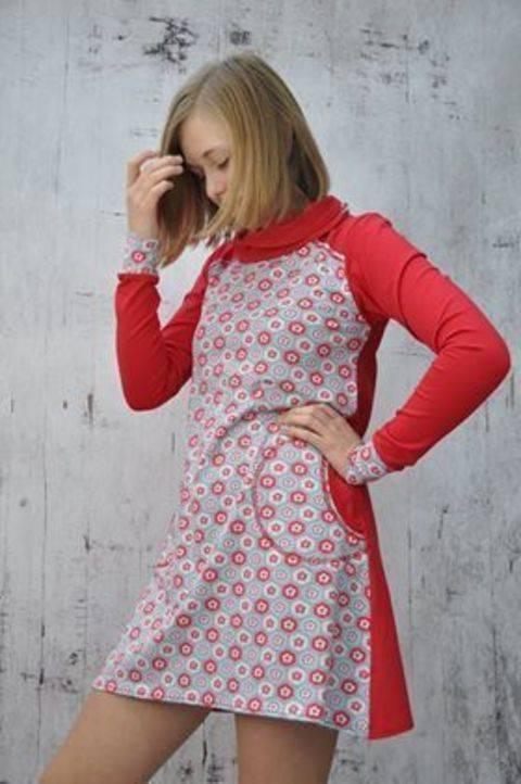 Ebook Shirtkleid Miss Mili, Nähanleitung und Schnittmuster  bei Makerist sofort runterladen