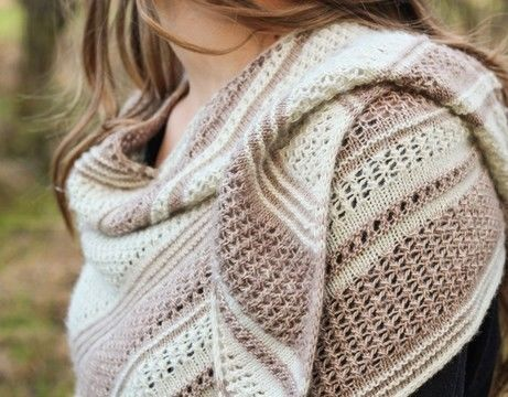 Download Aire Shawl - Knitting Patterns immediately at Makerist