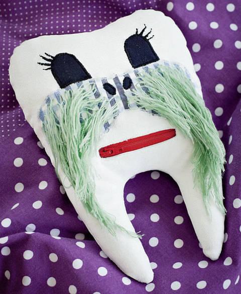 Walross-Zahnkissen Nähanleitung mit Schnittmuster bei Makerist sofort runterladen