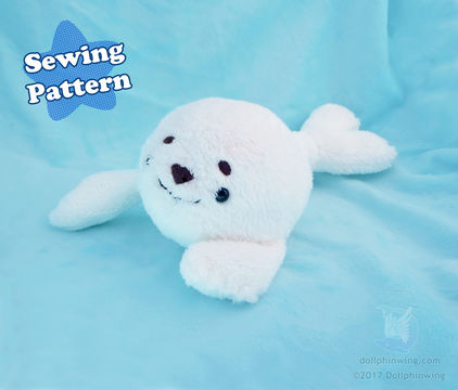 Download Arctic Seal Plush Sewing Pattern - Sewing Patterns immediately at Makerist