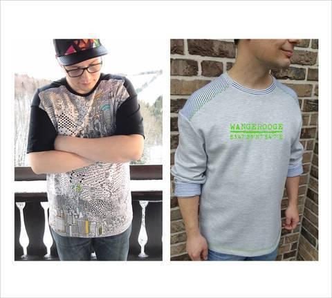 Nähanleitungen und Schnittmuster für ein T-Shirt