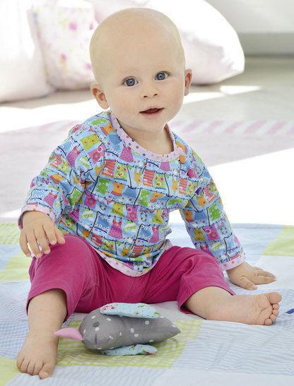 Shirt für Jungen und Mädchen Nähanleitung mit Schnittmuster