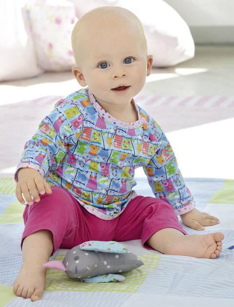 Shirt für Jungen und Mädchen Nähanleitung mit Schnittmuster bei Makerist sofort runterladen