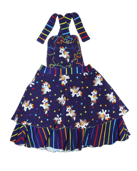 Download Pinafore dress and half circle skirt PDF sewing pattern immediately at Makerist