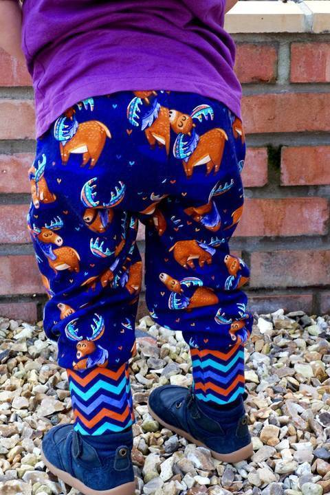 Download Comfy Legs Jogging Bottoms Joggers PDF Sewing Pattern immediately at Makerist