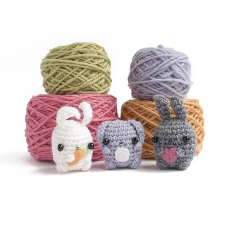 Download Amigurumi bunny crochet pattern immediately at Makerist