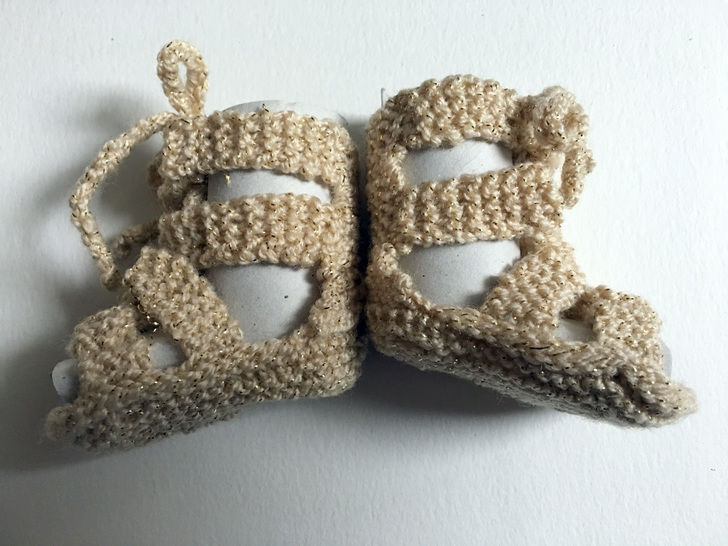 Download Baby knitted Gladiators  - Knitting Patterns immediately at Makerist