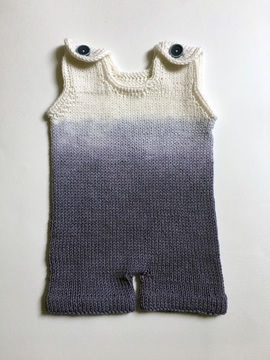 Download Ombre Boy Romper - Knitting Patterns immediately at Makerist