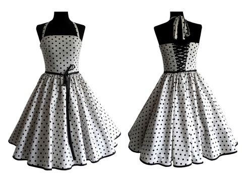 Download Therese: petticoat dress with back lacing – sizes 34-54 (EU) 6-24 (US) + picture sewing instruction - Sewing Patterns immediately at Makerist