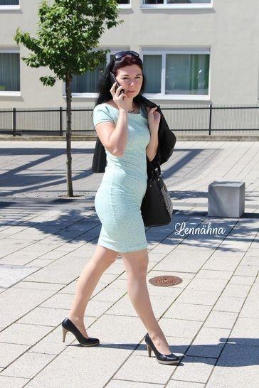 """eBook Shirt/Kleid """"Pretty Lady"""" Größen 34 - 54 von Lennähna - Nähanleitungen bei Makerist sofort runterladen"""