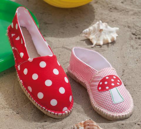 Espadrilles für Mama und Tochter Nähanleitung mit Schnittmuster bei Makerist sofort runterladen