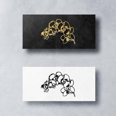 Plotterdatei ORCHIDEE by SILHOUETTE LOVE bei Makerist sofort runterladen