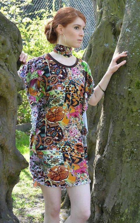 Flying Lady Shirt / Kleid bei Makerist sofort runterladen