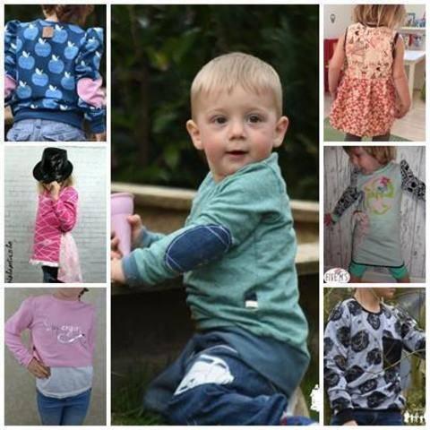 Kidspullover 4 in 1 inkl.Kleid bei Makerist sofort runterladen