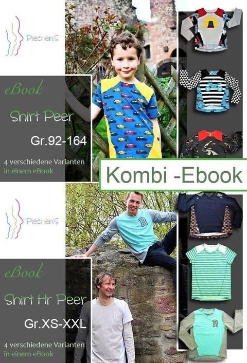 KombieBook Vokuhilashirt Peer & HePeer Schnittmuster und Nähanleitung bei Makerist sofort runterladen