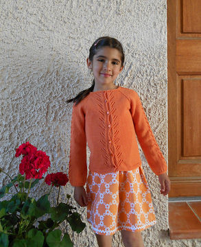 Download Escarpolette - cardigan for babies and girls - Knitting Patterns immediately at Makerist