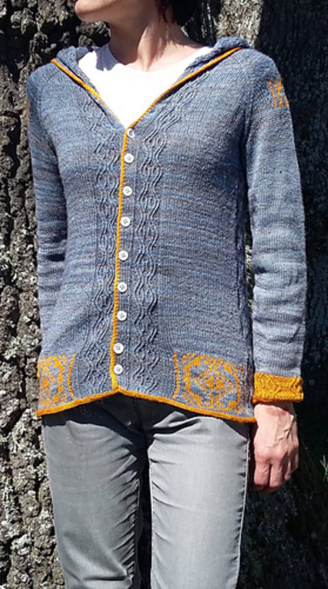 breaking blue cardigan (en) bei Makerist sofort runterladen