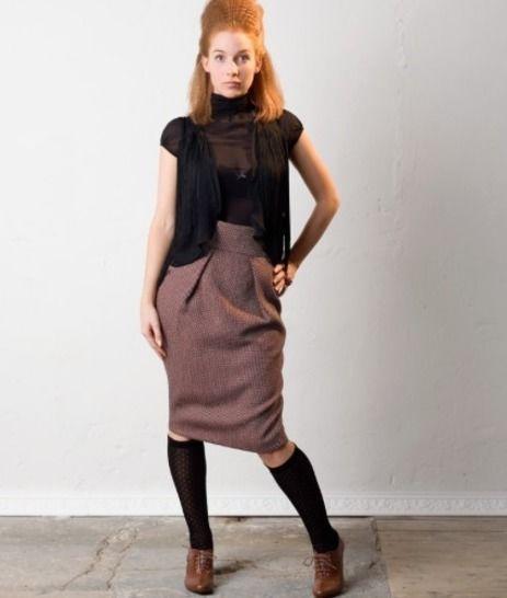 Télécharger Jupe Minu - Patron de couture avec tutoriel en Français - Patrons de couture tout de suite sur Makerist