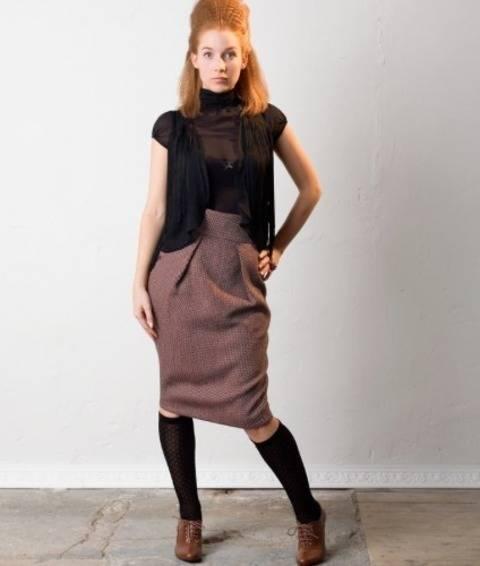 Télécharger Jupe Minu - Patron de couture avec tutoriel en Français tout de suite sur Makerist