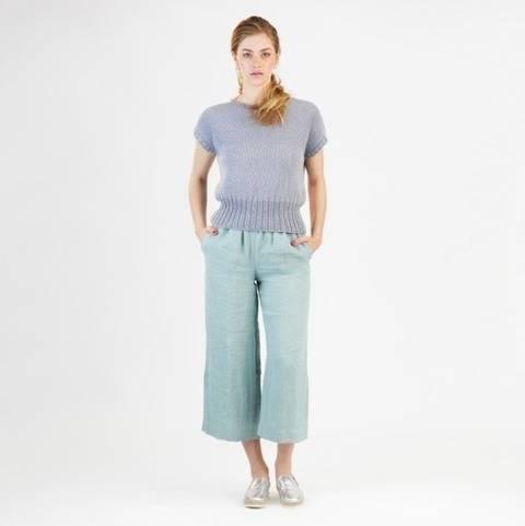 Télécharger Pantalon Mary - Patron de couture avec tutoriel en Français tout de suite sur Makerist