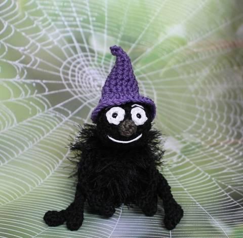 Häkelanleitung Freundliche Spinne bei Makerist sofort runterladen
