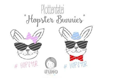 Plotterdatei Hopster Bunny mit Gewerbelizenz bei Makerist sofort runterladen
