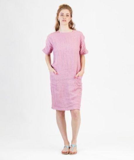 Télécharger Robe Rose - Patron de couture avec instruction en Français - Patrons de couture tout de suite sur Makerist