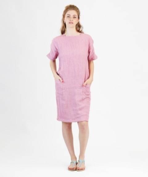 Télécharger Robe Rose - Patron de couture avec instruction en Français tout de suite sur Makerist