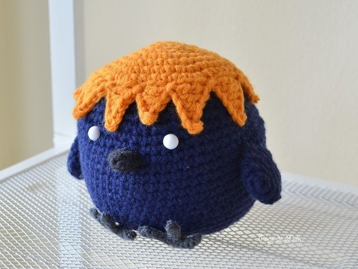 Download Haikyuu Crow Amigurumi  - Crochet Patterns immediately at Makerist