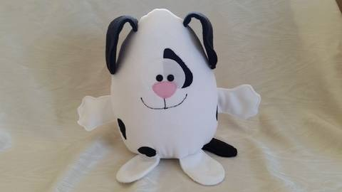 Kuschelmonster Doggy - Nähanleitung bei Makerist sofort runterladen