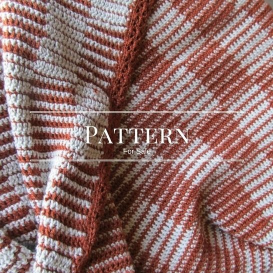 Checkerboard Crochet Blanket Beginner Blanket Crochet Pattern