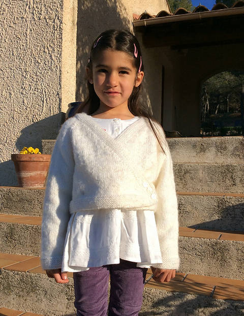 Download Petite gourmandise - cardigan for babies and girls immediately at Makerist