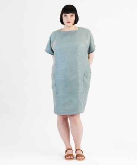 Télécharger Robe Rose pour grandes tailles - Patron de couture avec instruction en Français - Patrons de couture tout de suite sur Makerist
