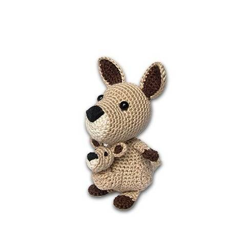 Kassidy le mini kangourou - tutoriel de crochet chez Makerist