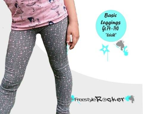 Basic Leggings - Freestyle Rocker bei Makerist sofort runterladen