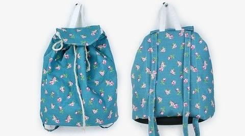 Nähanleitung Rucksack Eva – Tasche nähen bei Makerist sofort runterladen