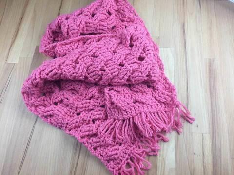 Häkelanleitung: Schal  bei Makerist sofort runterladen