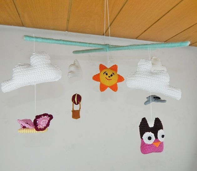 Häkelanleitung Mobile Baby - Häkelanleitungen bei Makerist sofort runterladen