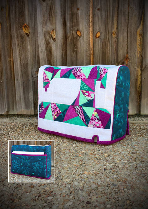 Made For Me Sewing Machine Cover - Machine Cover Pattern (en) bei Makerist sofort runterladen