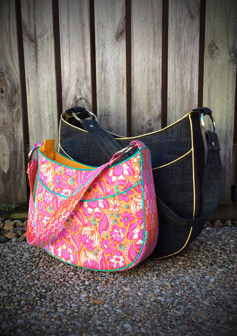 Roll With It Tote - Tote Bag Sewing Pattern (en) bei Makerist sofort runterladen