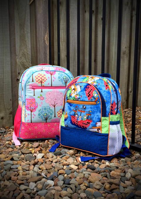 Adventure Time Backpack - Backpack Sewing Pattern (en) bei Makerist sofort runterladen