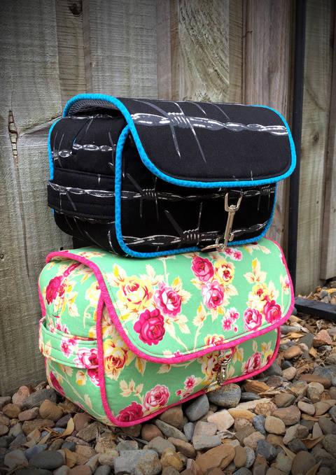 Hang About Toiletry Bag - Toiletry Bag Sewing Pattern  (en) bei Makerist sofort runterladen