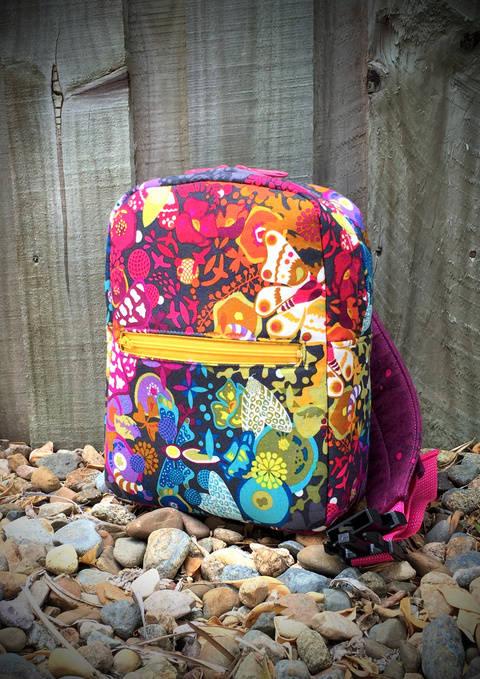 Little Freehand Pack - Backpack Sewing Pattern (en) bei Makerist sofort runterladen