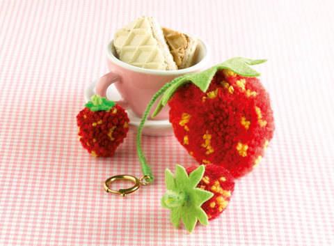 Erdbeeren Bastelanleitung bei Makerist sofort runterladen
