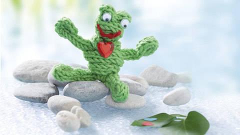 Herziger Frosch (Anleitung für Strickliesel) bei Makerist sofort runterladen